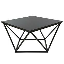 Stolik kawowy Curved 60 cm czarny