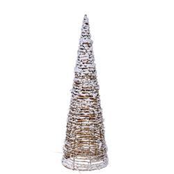 Ozdoba świąteczna choinka 10 led 40 cm