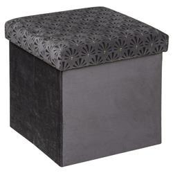 Pufa Liam Velvet Grey 38x38 cm