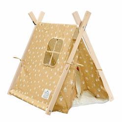 Namiot Tipi dla kota lub psa wzór Łapki