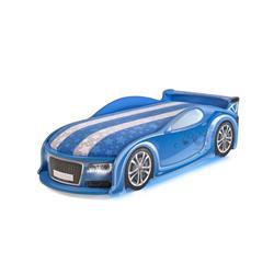 Łóżko dziecięce UNO A4 Sport Blue LED