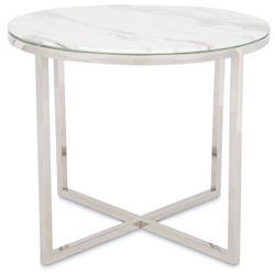 Stolik kawowy Vertigo Silver White 60 cm