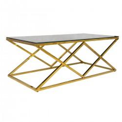 Stolik kawowy Timantti Gold Black 120 cm