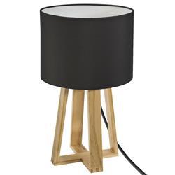 Lampka nocna Molu czarna 34,5 cm