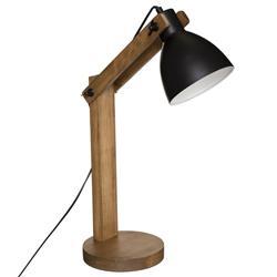 Lampka biurkowa Cuba czarna 56 cm
