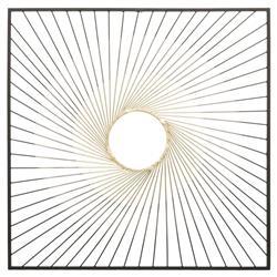 Metalowa ozdoba ścienna Elma 75x75 cm
