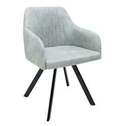 Krzesło Lucca vintage jasnoszare