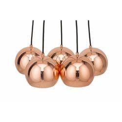 Lampa wisząca Perlotta różowe złoto