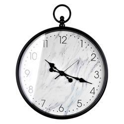 Zegar ścienny Marble Black 48 cm