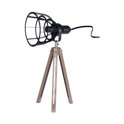 Lampa stojąca w stylu Loft na trójnogu
