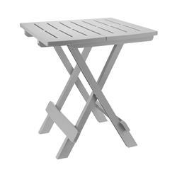 Stół składany balkonowy jasno szary 50cm
