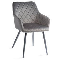 Krzesło tapicerowane Rico Dark Gray