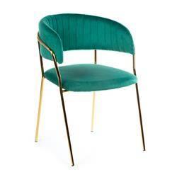 Krzesło Rarity Gold Green