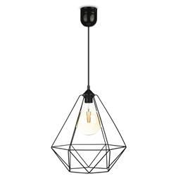 Lampa wisząca Paris Diamond 35 cm czarna
