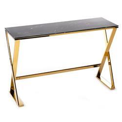 Konsola Huna Gold Black 120 cm