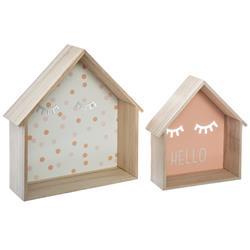 Półki ścienne domki do pokoju dziecka