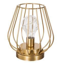 Druciana lampka LED z żarówką 17 cm