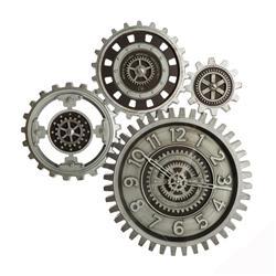Zegar ścienny Gears 57x58 cm