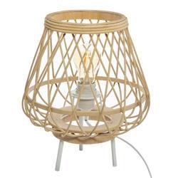 Bambusowa lampka nocna Mina 31 cm