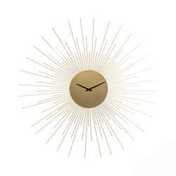 Metalowy zegar ścienny Słońce 67 cm