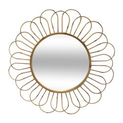 Okrągłe lustro ścienne Asco 72 cm