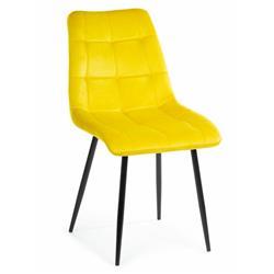 Krzesło Tori Black Yellow