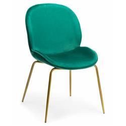 Krzesło Lori Gold Dark Green