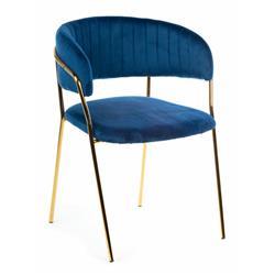 Krzesło Rarity Gold Navy Blue