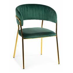 Krzesło Rarity Gold Dark Green