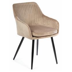 Krzesło Lenti Black Beige