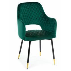 Krzesło Senko Black Dark Green