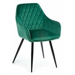 Krzesło Sametti Black Dark Green