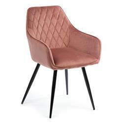 Krzesło Sametti Black Salmon