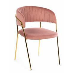 Krzesło Rarity Gold Salmon