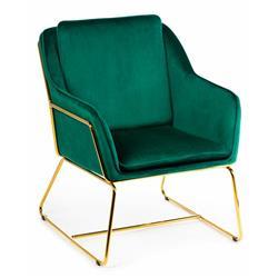 Fotel Stella Gold Green
