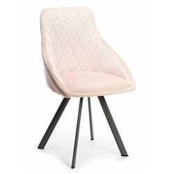 Krzesło obrotowe Roni Black Pink