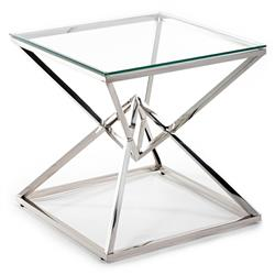 Stolik kawowy Diamanto Silver 60 cm