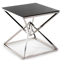 Stolik kawowy Diamanto Silver Black 60cm