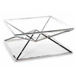 Stolik kawowy Diamanto Silver 100 cm