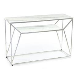 Konsola Farasin Silver White 120 cm