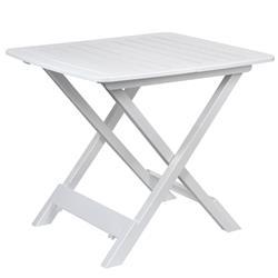 Stół składany balkonowy biały 50 cm