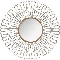 Okrągłe lustro ścienne Boucle 76 cm