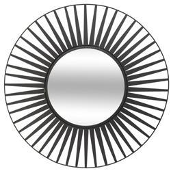 Metalowe lustro ścienne Słońce 50 cm