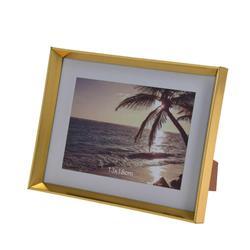 Złota stojąca ramka na zdjęcia 13x18 cm
