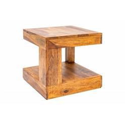 Stolik kawowy drewniany orientalny 45 cm