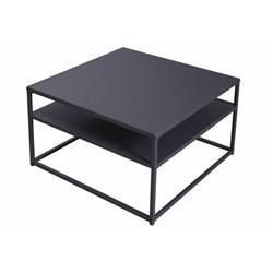Stolik kawowy ława BLACK 70x70 cm