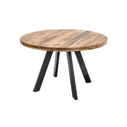 Stół jadalniany Iron Craft 120 cm mango