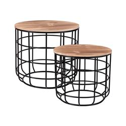 Komplet stolików kawowych do salonu