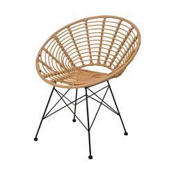 Krzesło rattanowe okrągłe