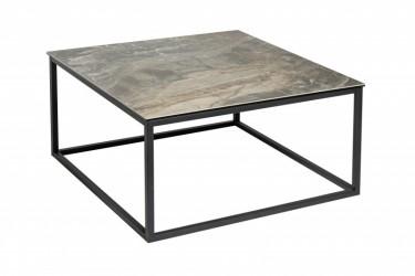 Stolik kawowy 75 cm ceramiczny marmur